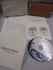 PHILIP STEIN Watch Strap Pouch TESLAR Chip Information Document Product Promo CD
