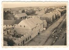 5/290 FOTO PLESSA 1951 GASTHAUS KUH GESPANNE KRIEGSSCHÄDEN