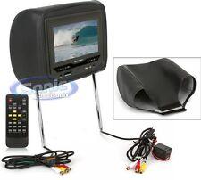 "Power Acoustik HDVD-73GRDK 7"" TFT-LCD Headrest Monitor w/ Built-in DVD Player"