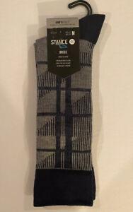 Stance Meredith Dress Sock Size Medium Men's