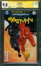 Batman 21 CGC SS 9.8 Ezra Miller FLASH Signed Janin Variant Cover Movie