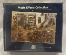 Magic Effects Collection Courtyard Flower Shop 500 PC Jigsaw Puzzle-RoseArt