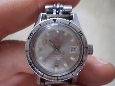 Roundex sub diver orologio vintage lady donna 26 mm meccanico carica manuale