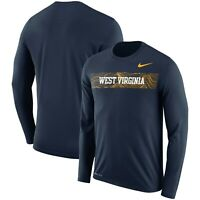 West Virginia Mountaineers Mens Nike Sideline Seismic Legend T-Shirt - XXL & L