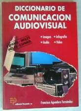 DICCIONARIO DE COMUNICACIÓN AUDIOVISUAL - IMAGEN / AUDIO / INFOGRAFÍA / VIDEO