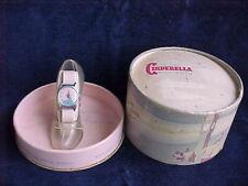 1950 DISNEY CINDERELLA WATCH IN POWDER PUFF BOX