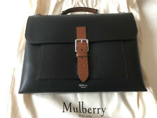 """MULBERRY """"CHILTERN"""" MEN'S LEATHER BRIEFCASE. BNWT AND DUST BAG. RRP £895"""
