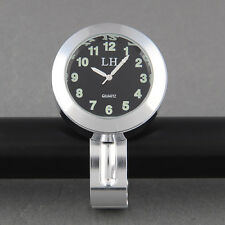 Universal Waterproof clock  25mm diameter - suit motorbikes etc 2,5mm diam bar