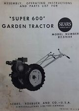David Bradley Sears 917575144 Garden Tractor Amp Plow Owners Amp Parts 2 Manuals