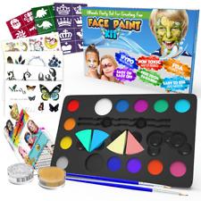 Kinderschminke Set Geschenk für Kinder - auf Wasserbasis für Party Spielzeug
