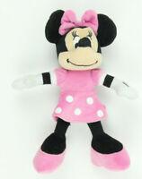 "Disney Just Play Minnie Mouse 10"" Plush Stuffed Animal Pink Dress Toy"