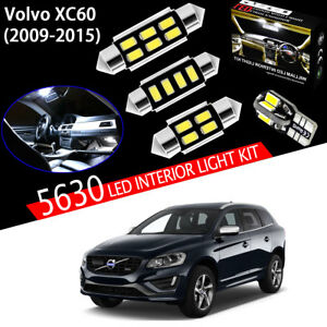 16pcs Xenon White 5630 LED Interior Light Kit Package For Volvo XC60 2009-2015