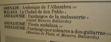 33 tours Manitas DE PLATA Disque LP 12 L'ESPAGNE Guitare FLAMENCO - CBS 63449