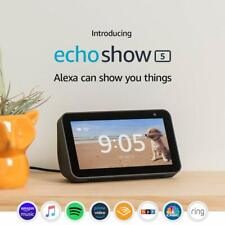 Amazon Echo Show 5 – Kompakt Smart Display mit Alexa - Dunkelgrau