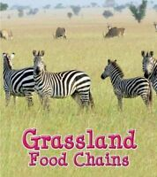 Grassland Food Chains by Angela Royston 9781406284218 (Hardback, 2014)