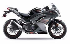 Complete Fairing ABS Kit for Kawasaki Ninja 300 EX300 2013-2016 Silver Black Red