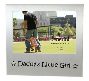 Daddy's Little Girl Photo Picture Frame Father's Day Birthday Christmas Dad Gift