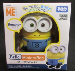 NEW Takara Tomy Bello! Cut  Despicable me Minions Bob Robot Japan