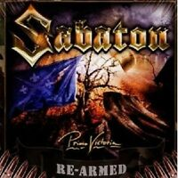 SABATON - PRIMO VICTORIA CD HEAVY METAL 15 TRACKS NEU