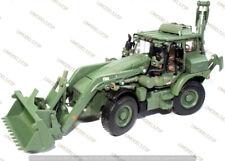 ♠ MotorArt JCB HMEE Backhoe Loader Military Excavator Olive Green version 1:50 ♠