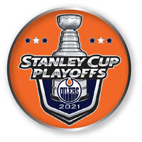 EDMONTON OILERS PLAYOFFS PIN 2020 - 2021 NHL STANLEY CUP FINAL ? HOCKEY CHAMPS