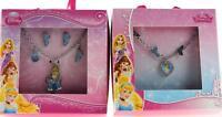 Disney Princess Cinderella Necklace, Earring and Bracelet Gift Set