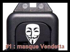 Cover Vendeta ornement culasse glock - NEUF ( glock 17 19 34 gen 1 2 3 4 )