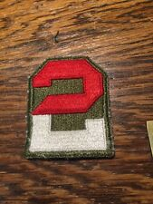 US 2nd Army Patch