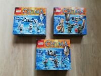 LEGO - Chima - X3 BULK SETS TRIBE PACK - BNIB - 70230,70231, 70232