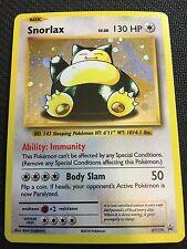 Pokemon TCG : XY PROMO SNORLAX XY179 RARE HOLO
