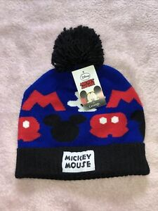 Boys Disney Mickey Mouse Hat Age 8-12 Years