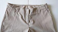DIANE GILMAN COLLECTION Women's Sz 4T Straight Leg Tan Beige Dress Pants