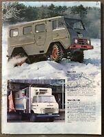 1965 Volvo L Series original sales brochure