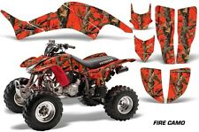 Honda TRX 400 EX AMR Racing Graphic Kit Wrap Quad Decal ATV 1999-2007 FIRE CAMO