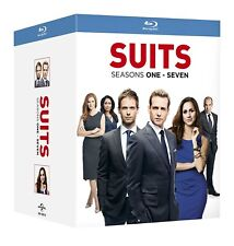 SUITS 1-7 COMPLETE SEASON 1 2 3 4 5 6 7 BLU-RAY BOX SET ENGLISCH