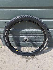 "Mavic 26"" EX729 Dirt Jump Front wheel Downhill D321 Rim Wheel 20mm Specialized p"