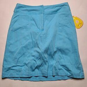 NWT Vintage Dead Stock K Dreyer Golf Tennis Skort Women's SIZE 2 Blue