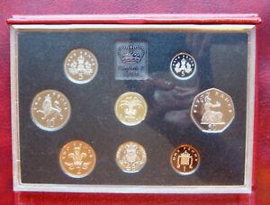 UK 1990 de-luxe proof set