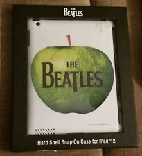 The Beatles Hard Shell Snap On Case For Ipad 2, White With Green Apple, New!