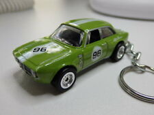 Hot Wheels Euro Speed Alfa Romeo Giulia Sprint GTA Keyfob Keychain Keyring