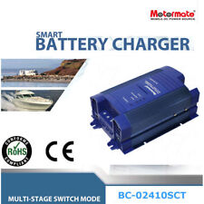 Motormate AC-DC 24V 10A power supply and fully automatic 4 stage battery charger