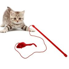 Elastic Rod Faux Mouse Toys for Cat Pet Kitten Playing Interactive Tease Toys