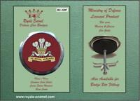 Royale Military Car Grill Badge & Fittings ROYAL HUSSARS PWO B2.3287