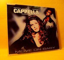 MAXI Single CD CAPPELLA Move On Baby 12TR 1994 house eurodance