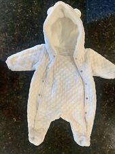 Nordstrom newborn Girl Winter Baby Bunting Hooded Suit