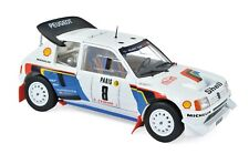 Peugeot 205 T16 Rally Monte Carlo 1986 #8 B. Saby 1/18 Norev