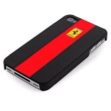 FERRARI PANCING HORSE Apple iPhone 4 4S Case Cover Schale  Tasche Rot Red Black