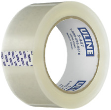 Uline Thick Packing Tape 35 Mil Thick 2 X 55 Yd Crystal Clear 6 Rolls