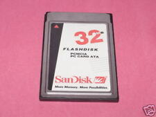 SanDisk 32MB PCMCIA ATA Flash Memory Card/GPS/telephone