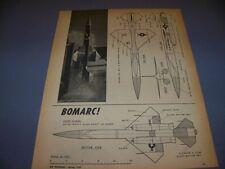 VINTAGE...BOMARC MISSLE..PHOTO/4-VIEWS...RARE! (326)